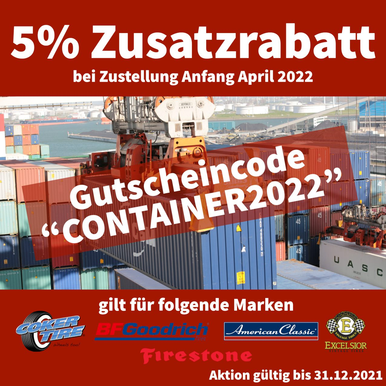 Zusatzrabatt Container